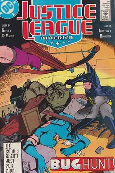 Justice League America #26 Very Fine/Near Mint $2.50