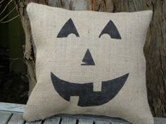 yes!!!                 Burlap pillow