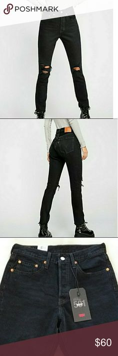 4386a0ffd35 New LEVI'S 501 High Rise Skinny New with tag Levi's Premium 100% Cotton  Size 27 · Levis Skinny JeansStretch ...