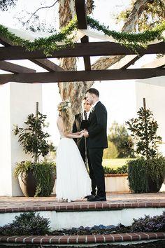 outdoor wedding in California