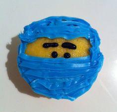 Ninja cupcake.