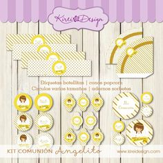 kit comunion toppers Advent Calendar, Holiday Decor, Home Decor, Ornaments, Decoration Home, Room Decor, Interior Design, Home Interiors, Interior Decorating