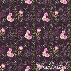 Pattern Design by Sarah Bertochi: Art Licensing from My Seat on the Bus: Pattern Parade