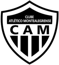 ESCUDOS GINO: CA MONTEALEGRENSE (MONTE ALEGRE) - RN Atari Logo, Logos, San, Federal, World, Norte, Logo