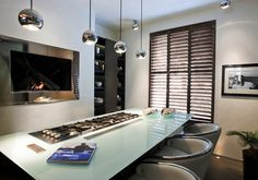 See our range of fabulous interior shutter styles for your home. Stylish, made to measure plantation shutters are hand-crafted to fit any size or shape of window. Indoor Shutters, Interior Window Shutters, Wooden Shutters, Interior Doors, House Blinds, Blinds For Windows, Window Blinds, Islands, Kitchens