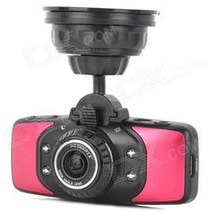 GS9000 2.7 TFT 1080p CMOS 178 Wide Angle Car DVR w/ HDMI / AV-out / TF / 4-IR LED / GPS / G-Sensor