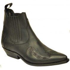 Western Stiefelette Kentucky un schwarz von Sancho Boots
