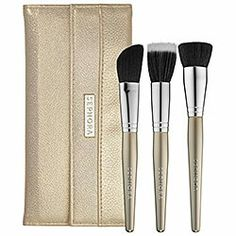 Great brushes for face contouring and bronzing!