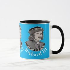 Richard III King of England Mug - tap/click to get yours right now! #richardiii #englishmonarchy #englishhistory #historybuff #historygift #historystudent Richard Iii Society, King Richard, Anniversary Quotes, Love Messages, Hand Sanitizer, Keep It Cleaner, Photo Mugs, Funny Jokes, Create Your Own
