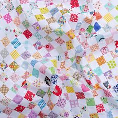 A Checkerboard Quilt and a Strip Piecing Tutorial