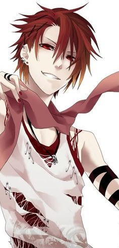 male anime characters with red hair - Google Search