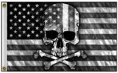Discount Doug's Skull And Crossbones Flag, Skull Flag, Skull And Bones, American Flag Wallpaper, Skull Artwork, Skull Drawings, Creepy Drawings, Man Cave Items, Printmaking