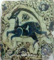 miettes d'argile: décembre 2011 Islamic Patterns, Antique Tiles, Wild Creatures, China Painting, Tile Art, Islamic Art, Art History, Pottery, Antiques