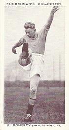 1938 W.A.& A.C Churchman #12 P. Doherty Front