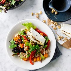 Baked ricotta and pumpkin salad | Healthy Recipe | Weight Watchers AU