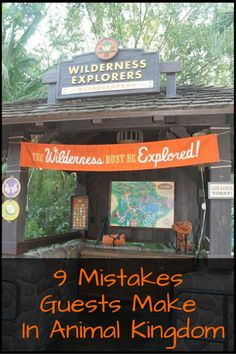 Don't make these 9 Mistakes Guests Make In Animal Kingdom