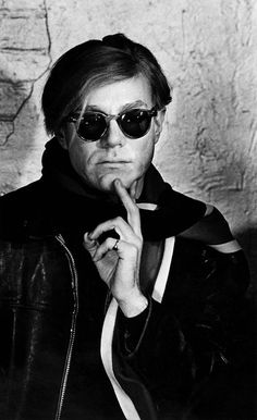 Andy Warhol at The Factory, New York, 1963. Steve Schapiro