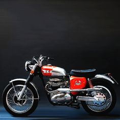 1966 BSA Brat Tracker | A65 Hornet | 650ccBSA #motorcycles #streettracker #motos | caferacerpasion.com