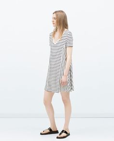 Image 1 of OVERSIZE DRESS from Zara