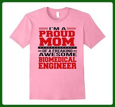Mens I'm A Proud Mom of a Freaking Awesome Biomedical Engineer 3XL Pink - Careers professions shirts (*Amazon Partner-Link)