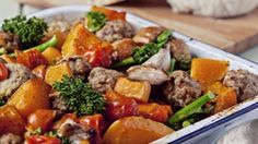 You'll find the ultimate One-Pan Bake with Italian Meatballs, Tenderstem and Squash recipe and even more incredible feasts waiting to be devoured right here on Food Network UK.