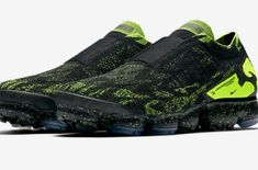 6f2f3f98a4378 Official Images  ACRONYM x Nike Air VaporMax Moc 2 Black Volt The new and  collaborative