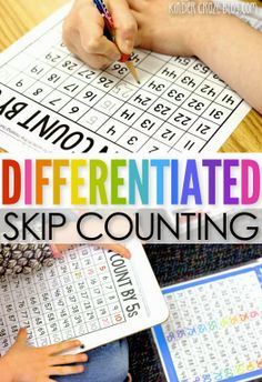 DIFFERENTIATED Skip Counting Practice