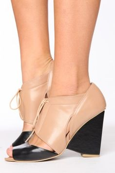 jeffrey campbell cutout wedge shoes