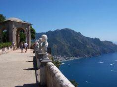 Villa Cimbrone. One of my favorite spots on the Amalfi coast.