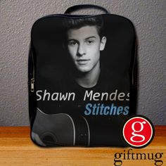 Shawn Mendes Stitches Backpack for Student