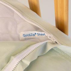 QuickZip Twin Sheet Starter Set | Twin Size Bed Sheets