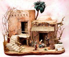 Christmas Crib Ideas, Christmas And New Year, All Things Christmas, Christmas Tree Decorations, Xmas, Diy Nativity, Christmas Nativity Scene, Fantasy Map, Painting & Drawing