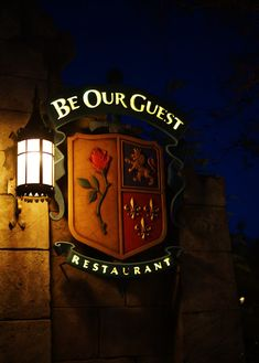 Part 1 of a recap of the dining experience at the new and absolutely stunning Be Our Guest restaurant.  Tons of pictures, including food pictures.