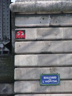 space invader a Paris