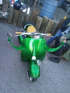 radical Vespa scooter