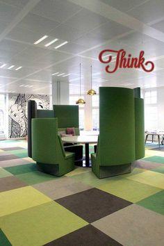 Впечатляющий офис JWT в столице Нидерландов от мастерской Koudenburg