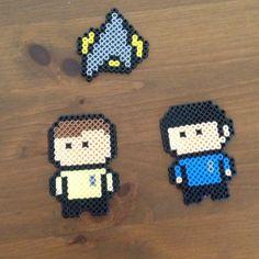 Star Trek perler beads by sav_rosee