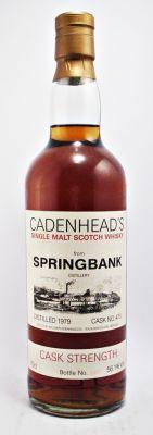 Springbank Scotch Whisky 1979 CADENHEAD'S 56.1%