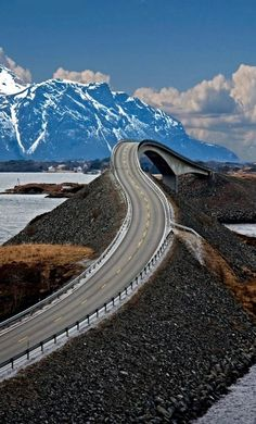 The Atlantic Road... Norway