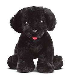 Melissa and Doug Benson Black Lab Puppy Dog Stuffed Animal, Multicolor Black Lab Puppies, Dogs And Puppies, Corgi Puppies, Bear Dogs, Doggies, Air Jordan, Giant Plush, Nike Air, Brown Teddy Bear