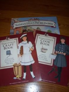 Great ideas for the American Girl books, this gal had a club and she posts the activites she did with the girls for each historical book.  Great resource!