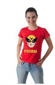 Camiseta Harvey Birdman, Unissex, Várias Cores e tamanhos.