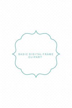Basic Digital Frame Clip Art.