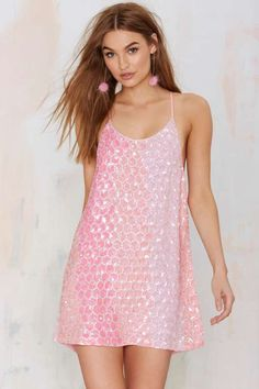 Sequin obsessed? Get dressy with the MLV Terra Sequin Dress