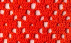 Patrón #922: Punto Calado a Crochet | CTejidas [Crochet y Dos Agujas]