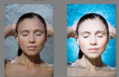 photo editing, retouching effect