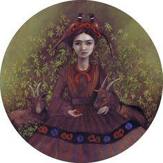 Pastures   Nom Kinnear King   2014   tribute to Frida Kahlo