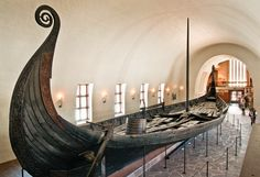 famous vikings ship in museum - Google Search