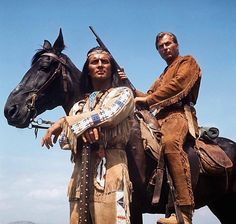 """""""Mein Bruder!"""":  Keiner hat die Rollen des edlen Indianerhäuptlings Winnetou..."""