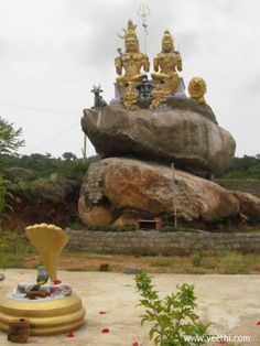Shiva temple in yelagiri hills